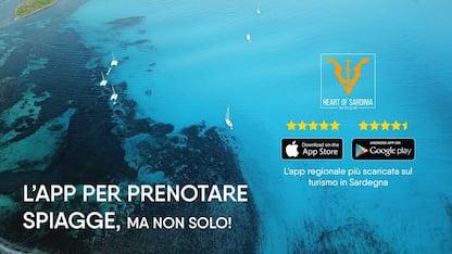 Heart of Sardinia, l'app per prenotare i posti in spiaggia in Sardegna