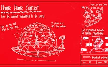 """The Phone Dome Concert, un """"concerto di smartphone"""". VIDEO"""