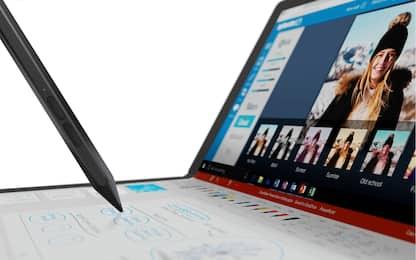 "ThinkPad X1 Fold, il pc pieghevole ""camaleonte"""