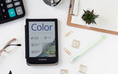 L'e-reader di PocketBook da 4.096 colori in HD