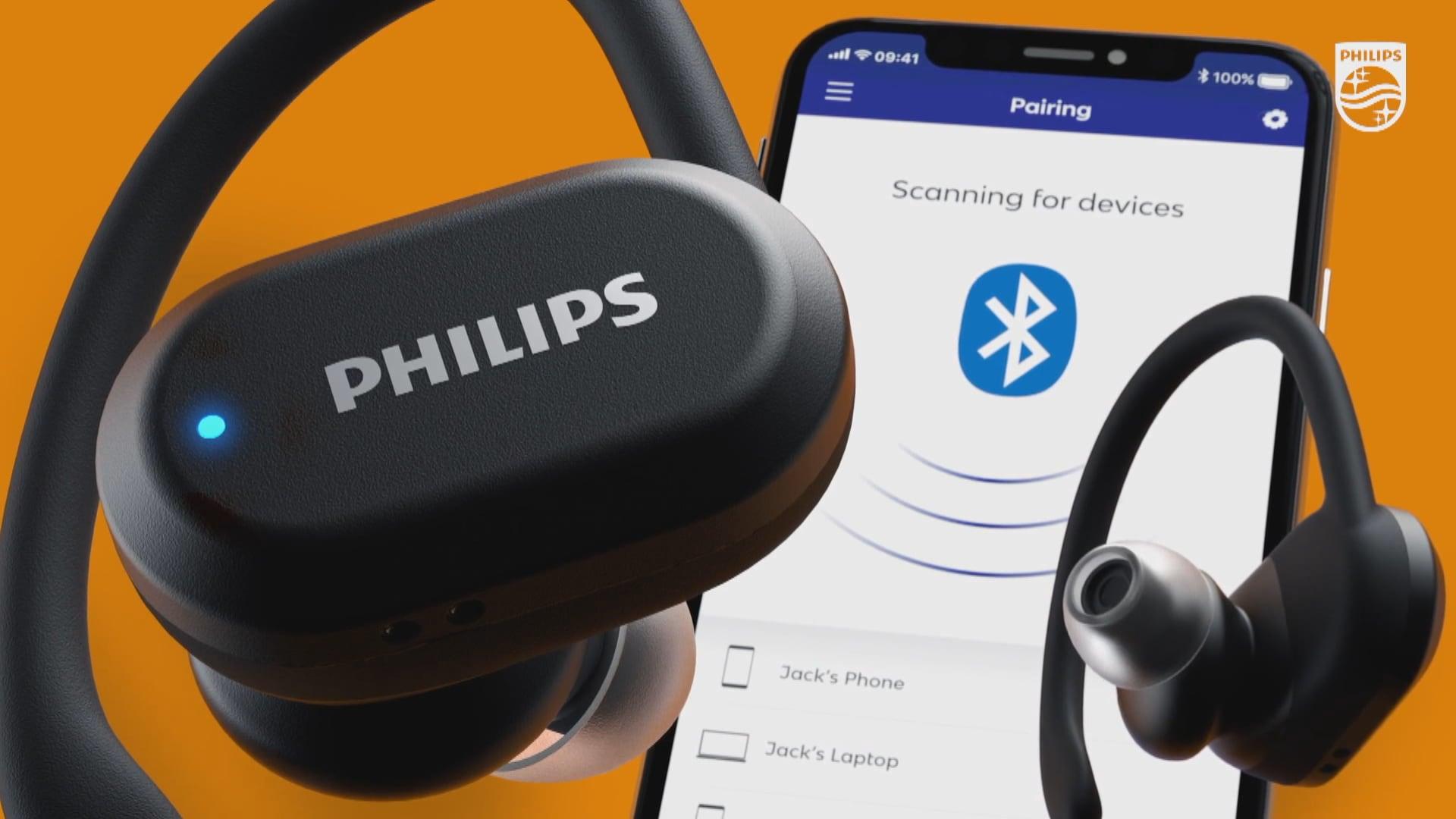 Una delle nuove cuffie Philips