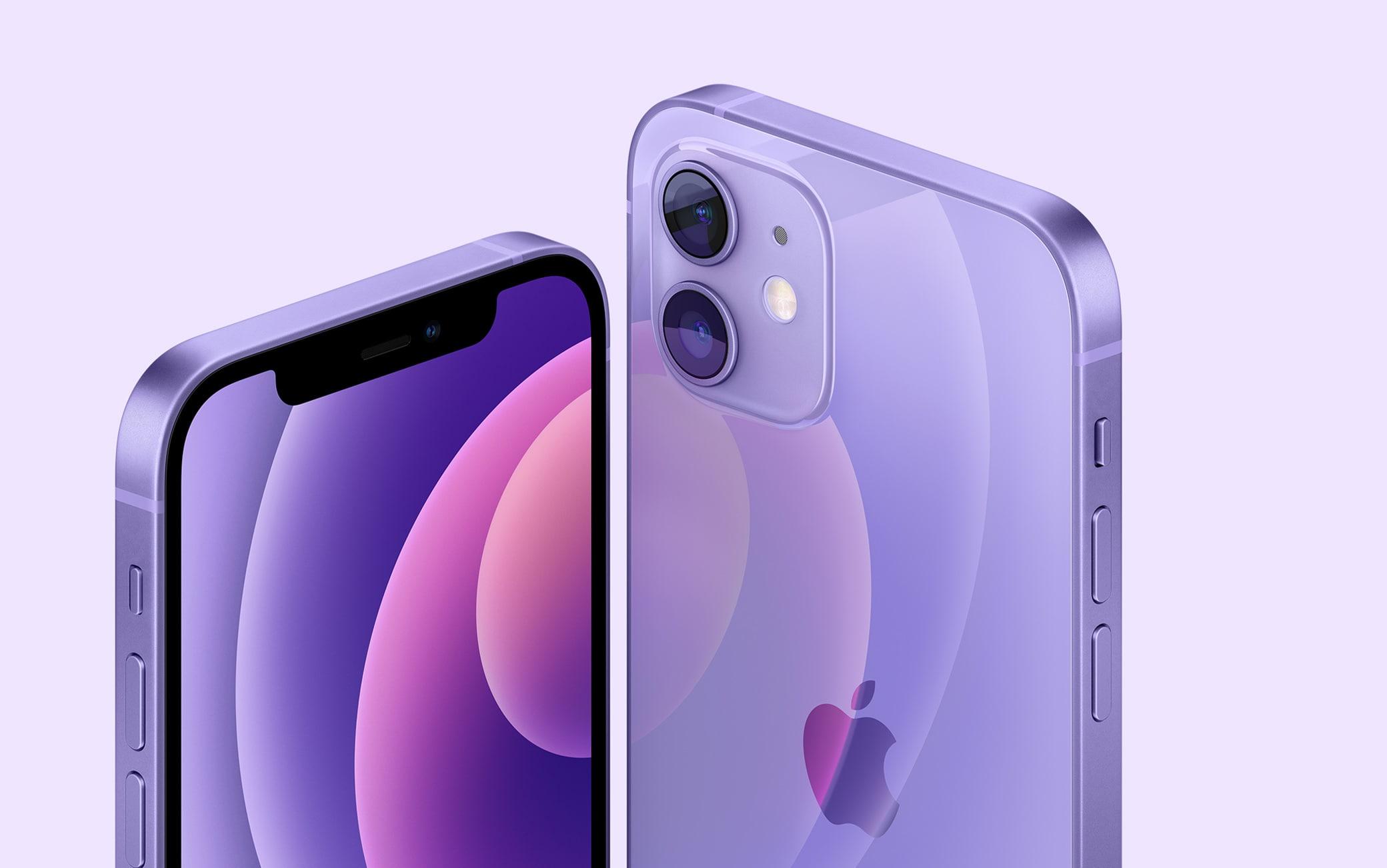 Viola, il nuovo colore di iPhone 12