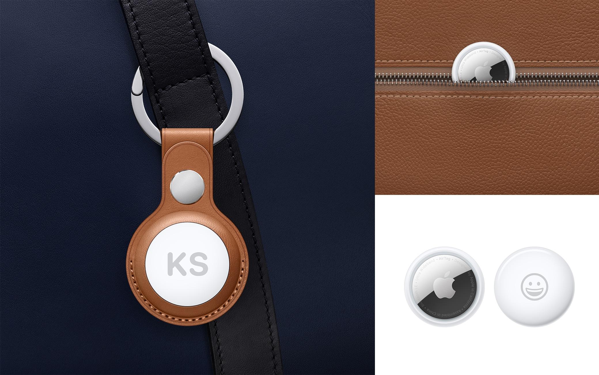 Tanti gli accessori, dai lacci ai portachiavi. E gli AirTag si possono anche personalizzare con un'incisione
