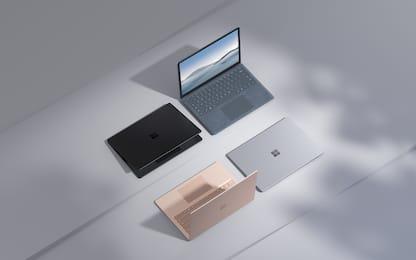 Microsoft aggiorna il suo laptop di successo: ecco Surface Laptop 4