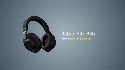 Jabra Elite 85h, le cuffie con 8 microfoni
