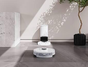 Ecovacs Deebot T9+, il robot che lava, aspira e profuma