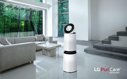 PuriCare 360, il purificatore d'aria di design di LG