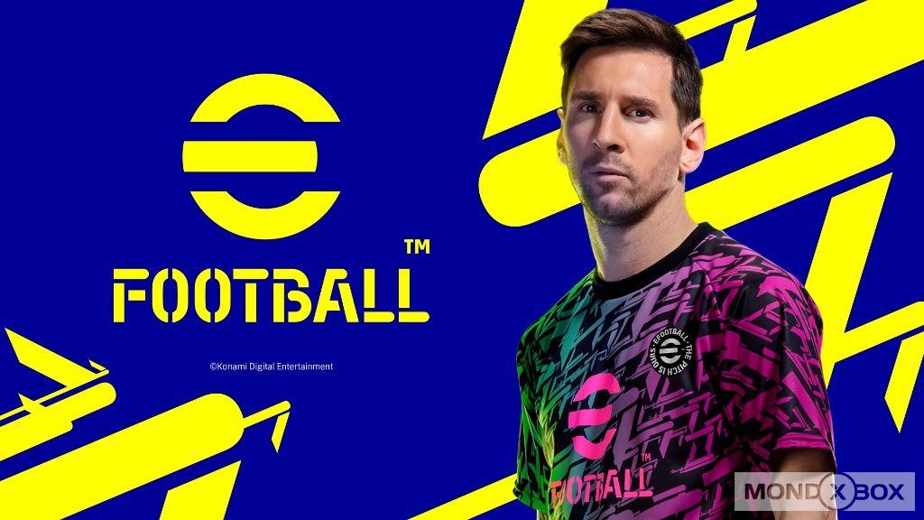 eFootball 22, la copertina del gioco