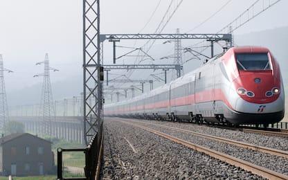 """Treno """"Covid-free"""" al via oggi sulla Roma-Milano"""