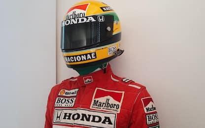 Isola d'Asti, rubano 300 cimeli di Ayrton Senna: due arrestati