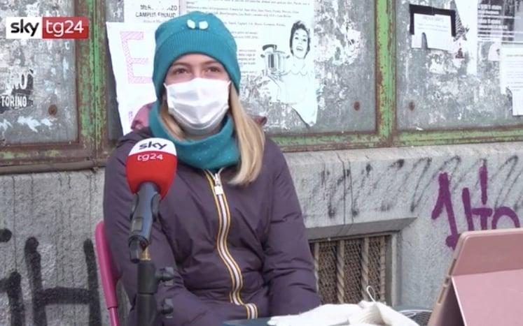 Scuola Torino, Anita torna in piazza: 'Ci dicano perché chiudono aule'