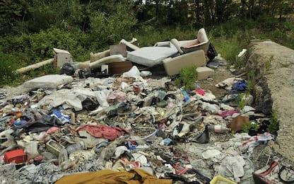 Sequestrata discarica di rifiuti speciali a Piano di Sorrento