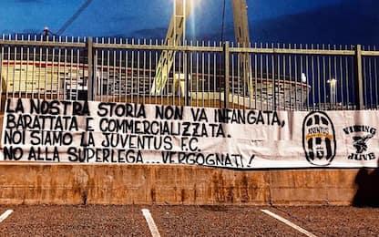 """Juve, ultras contro la Superlega: """"La nostra storia non va infangata"""""""