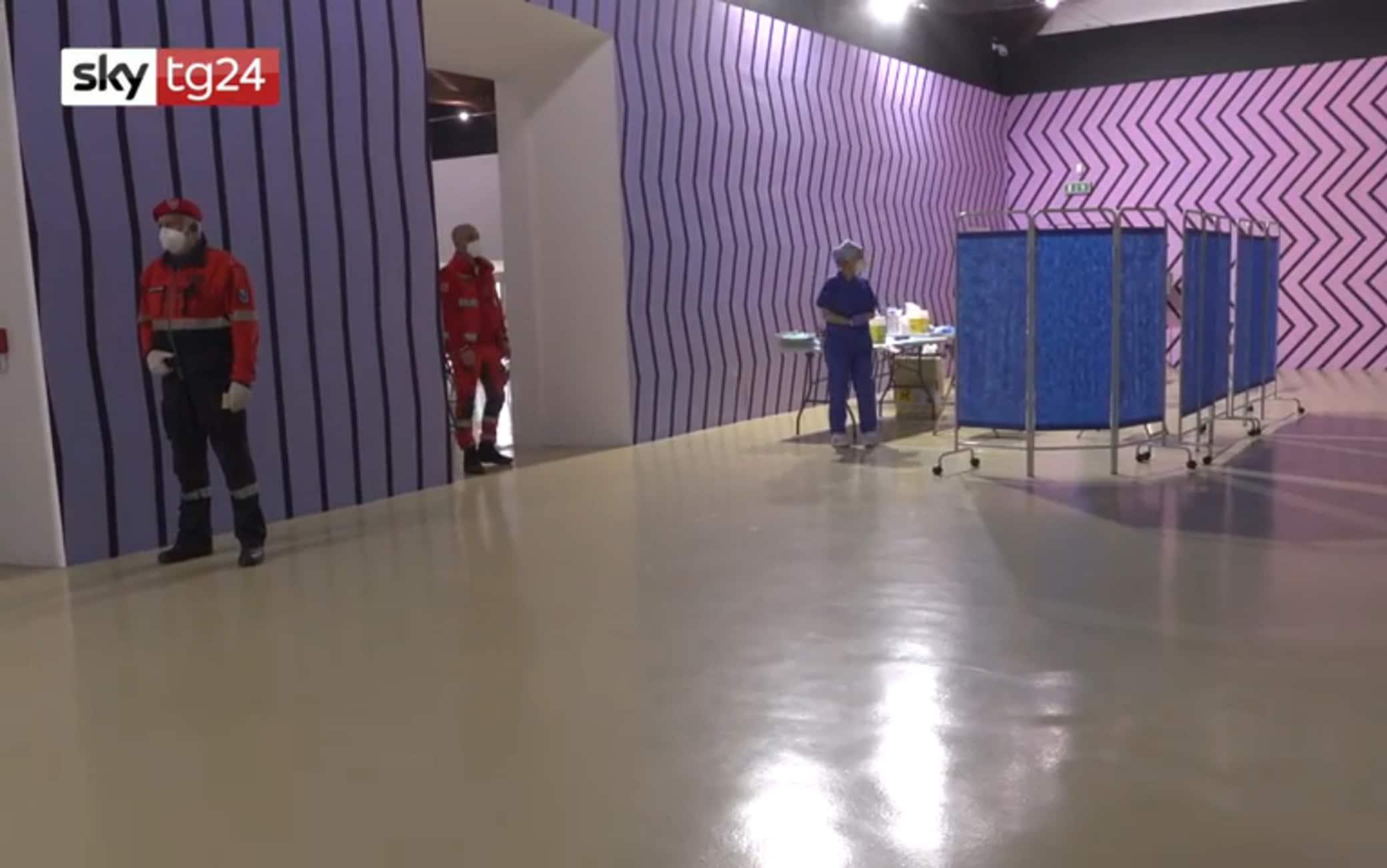 L'hub realizzato nel museo di Rivoli