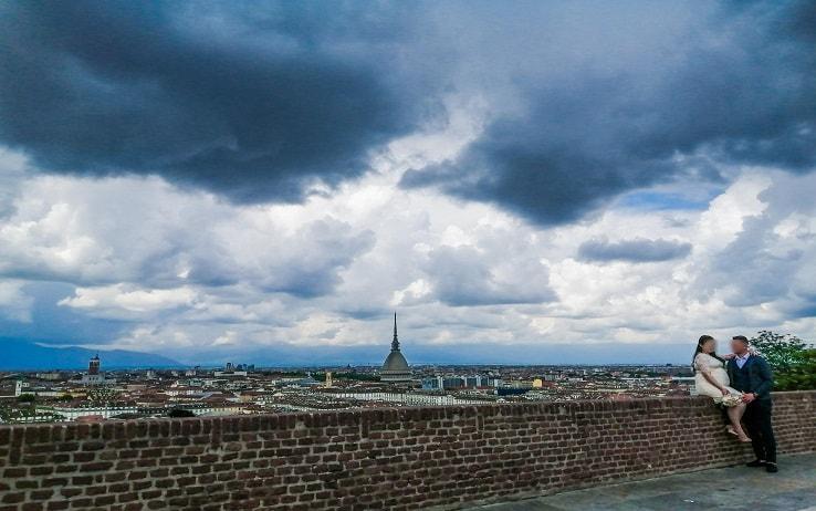 L'ondata di maltempo a Torino