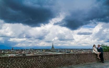 Maltempo Torino, oggi pioggia intensa e grandine in città