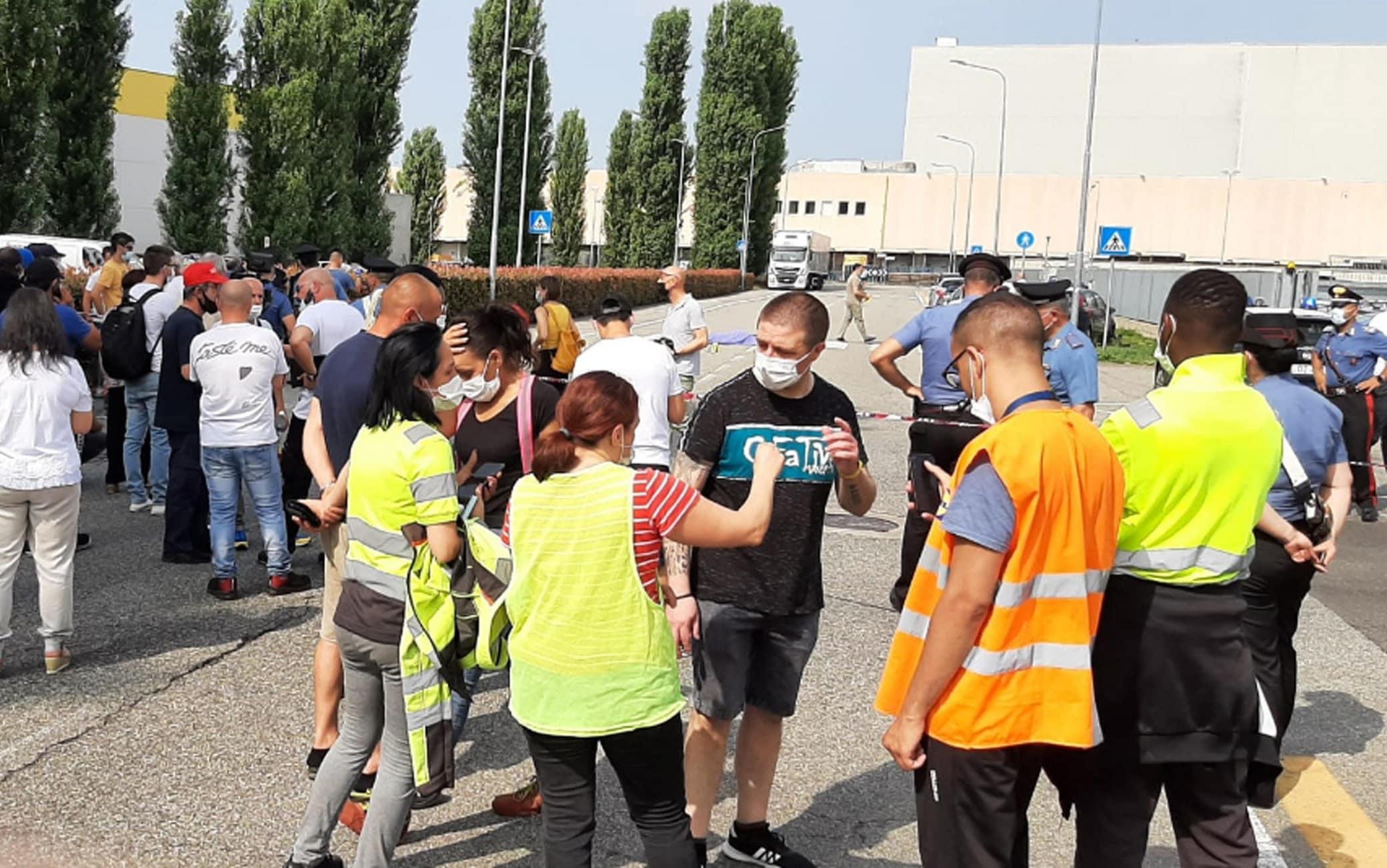 Tragedia a Biandrate: muore 37enne investito da un camion durante manifestazione