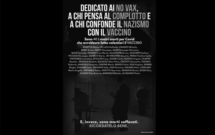 Il manifesto del sindaco di Castelnuovo Scrivia