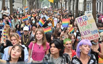 Torino, il Pride torna in piazza dopo lo stop per la pandemia