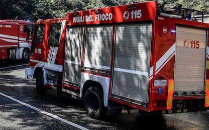 Incendio nella Riserva Naturale Macchiatonda di Santa Marinella