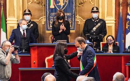 """Torino, Lo Russo si insedia: """"Sfida è far ripartire la città"""""""