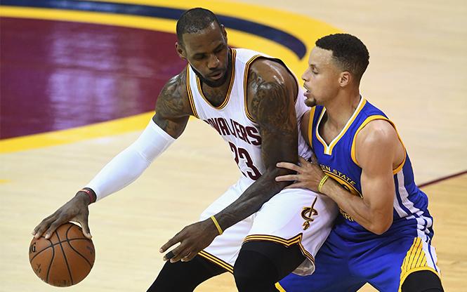 NBA: CLEVELAND - GOLDEN STATE