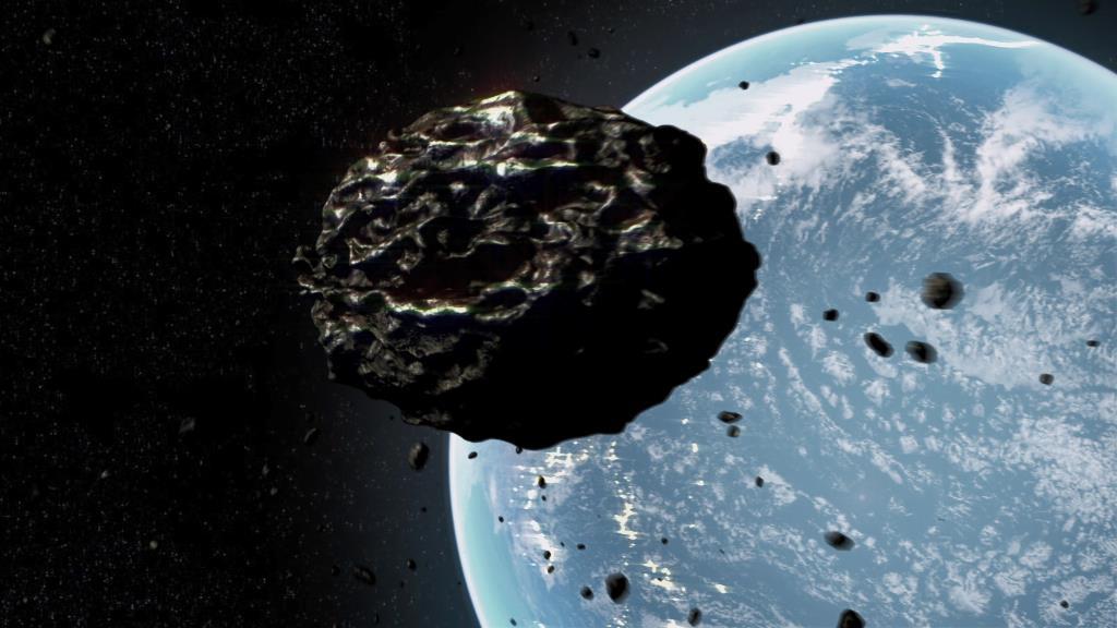 Asteroid vs Earth 0