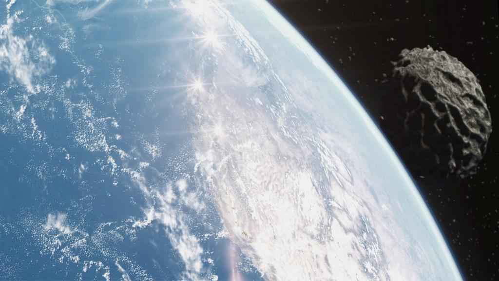 Asteroid vs Earth 8