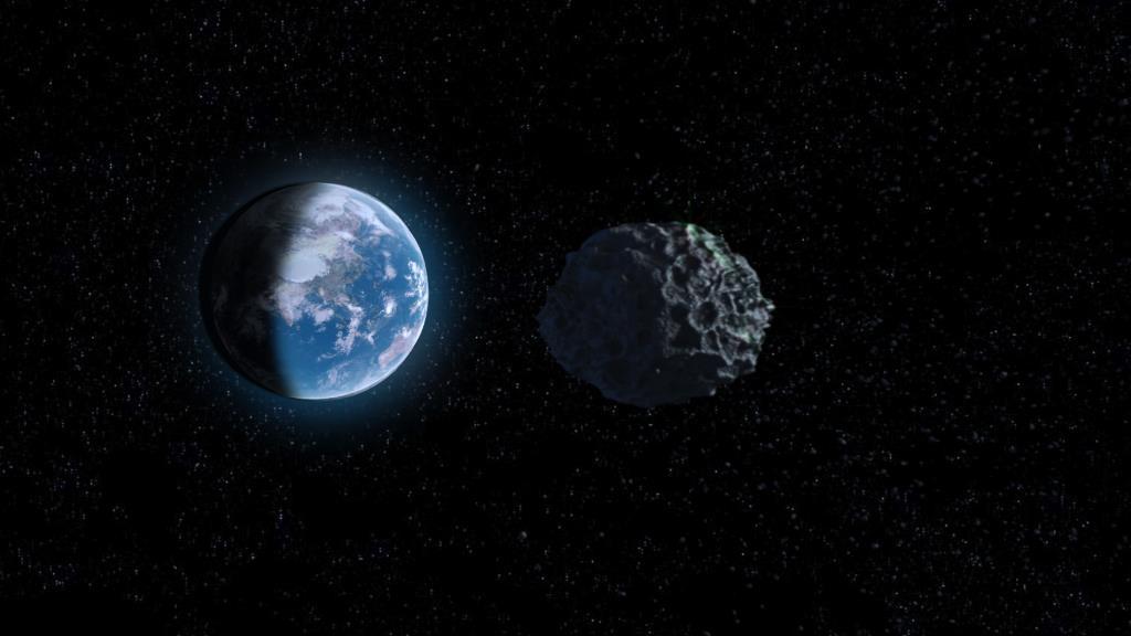 Asteroid vs Earth 4