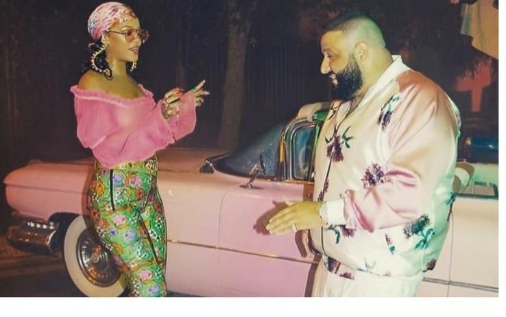 Rihanna sul set del suo nuovo video