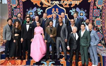 Aladdin: il cast del film Disney con Will Smith