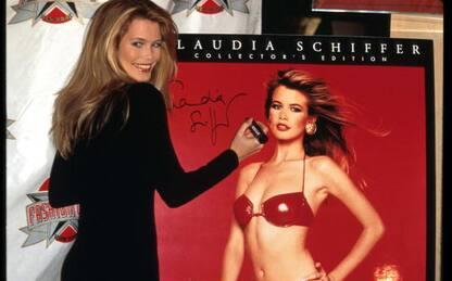 Claudia Schiffer, le foto della modella ieri e oggi