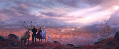 Perso Quaggiù: il testo della canzone di Frozen 2
