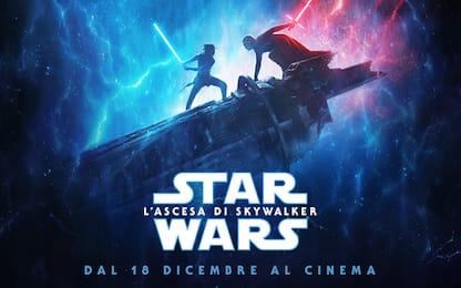 Star Wars: The Rise of Skywalker, il cast. FOTO