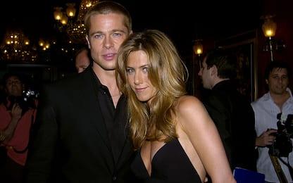 Brad Pitt e Jennifer Aniston, la loro storia d'amore