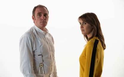 Paola Cortellesi e Valerio Mastandrea nel film figli