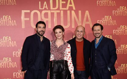 La dea fortuna, il cast del film ai David di Donatello 2020
