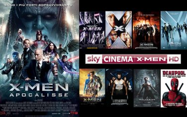 sky cinema xmen