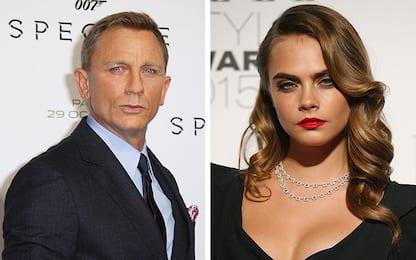 Il prossimo James Bond? Cara Delavingne vs Daniel Craig