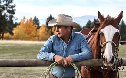 Yellowstone, le prime foto della serie tv