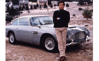 A bordo dell'Aston Martin di James Bond