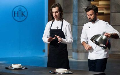 Hell's Kitchen: Frederik Berselius ospite di Cracco