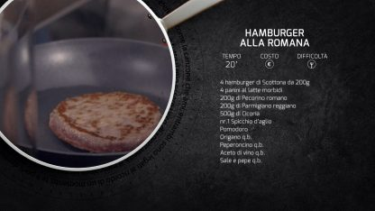 Kitchen Sound: la ricetta dell'hamburger alla romana