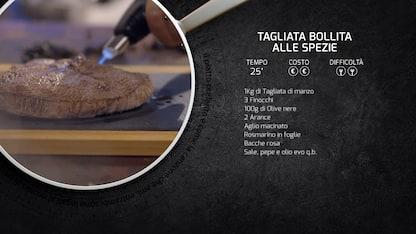 Kitchen Sound: la ricetta della tagliata bollita alle spezie