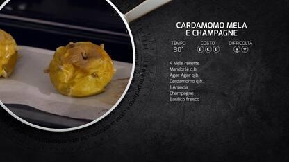 Kitchen Sound: la ricetta del cardamomo, mela e champagne