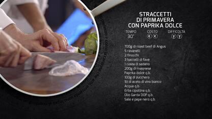 Kitchen Sound: la ricetta degli straccetti con paprika dolce