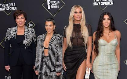 Kourtney Kardashian e la lite con le sorelle Kim e Khloé