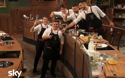 Antonino Chef Academy, le foto della quinta puntata