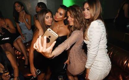 Kim Kardashian e il viaggio a Las Vegas con le sue amiche