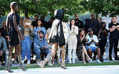 Kim Kardashian e la linea delle sue sneakers Yeezy